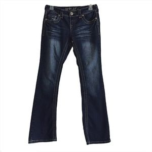 AMETHYST Series 31 Low Rise Dark Wash Jeans Sz 5